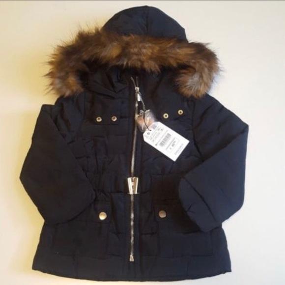 565f47813 Zara Jackets & Coats | Girls 1314 Down Puffer Jacket Black Large ...